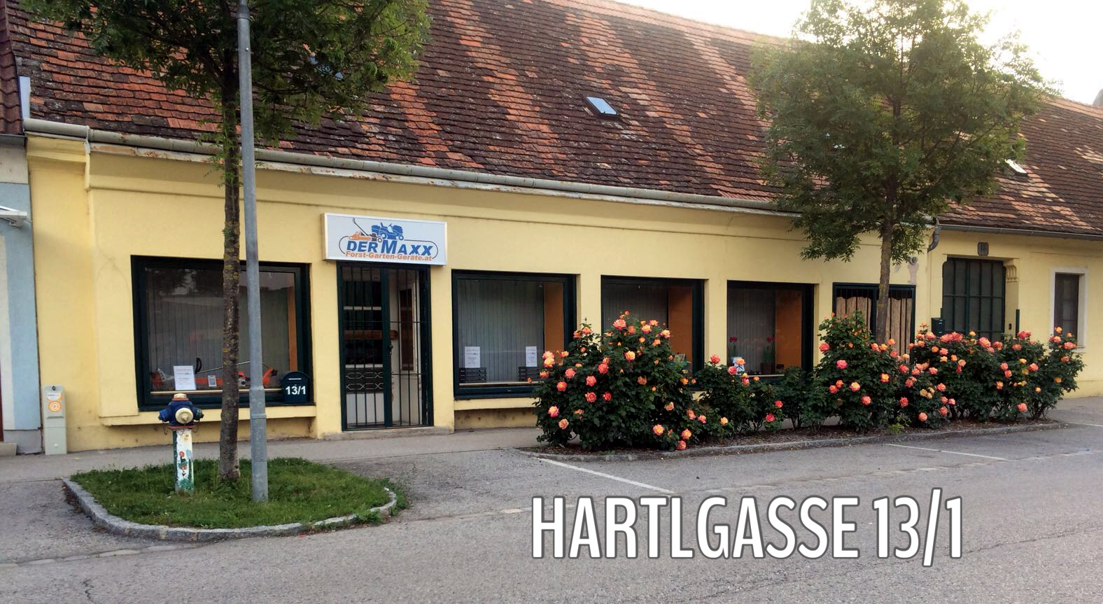 Hartlgasse Pottendorf Gartenwerkzeuge Rasenmäher service schärfen trimmer